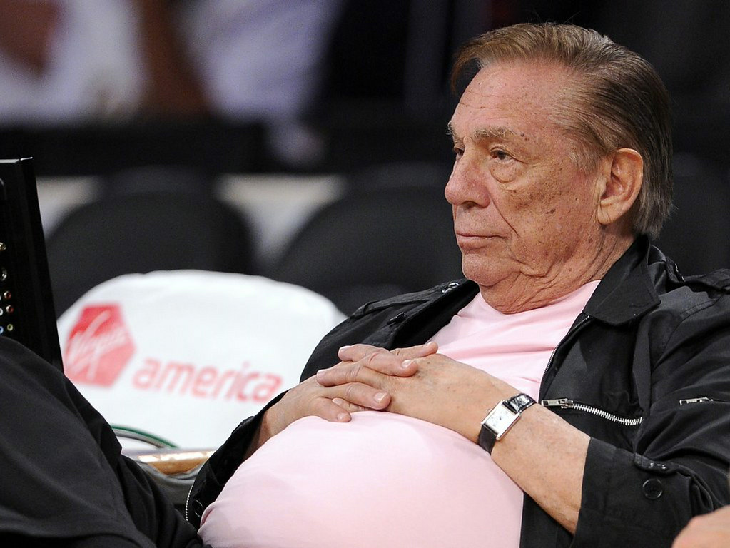""". 5. DONALD STERLING <p>Experts say there�s a chance he has Alzheimer�s. There�s an even greater chance he�s an old racist sleazebag. (unranked) <p><b><a href=\'http://www.twincities.com/sports/ci_26101628/clippers-sale-hangs-balance-trial-begins\' target=\""""_blank\""""> LINK </a></b> <p>     (AP Photo/Mark J. Terrill)"""