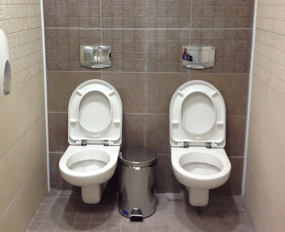 ". <p>9. SOCHI OLYMPICS <p>Twin toilets photo fitting, because these Games will probably end up in the crapper. (6) <p><b><a href=\'http://www.mirror.co.uk/news/world-news/russian-sochi-olympics-twin-toilets-3049437#.UuF9ohDnamw\' target=""_blank\""> HUH?</a></b> <p>    (AP Photo/Steve Rosenberg, BBC)"