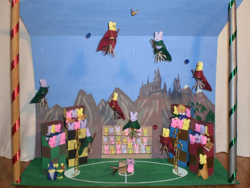 ". ""Harry Potter and the Quidditch Peeps,\"" by Mary Corporaal"