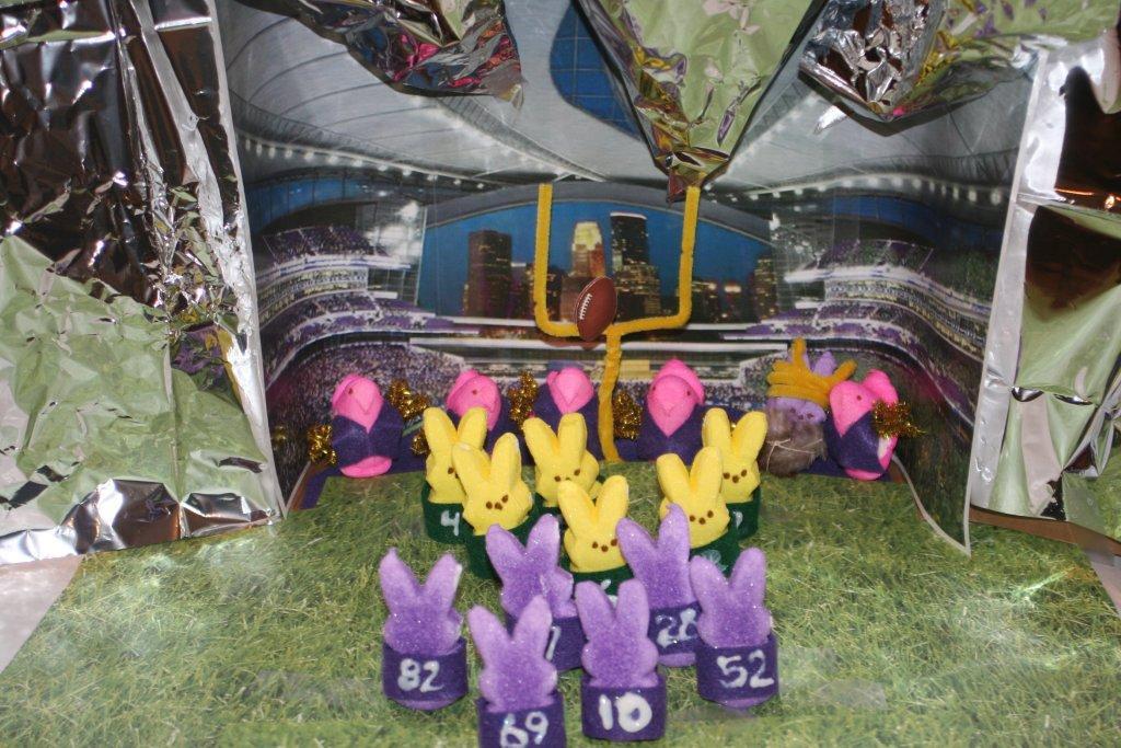 ". \""Vikings Stadium - Peepified,\"" by Angie Hart"