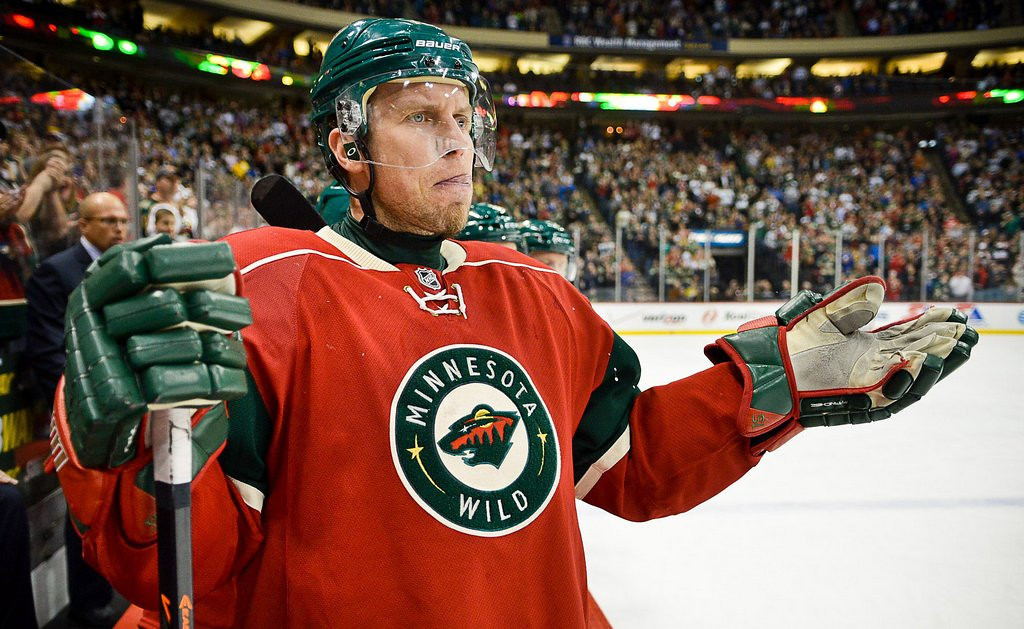 """. <p><b> Minnesota Wild fans learned this week that their team�s 2014 playoff run will be � </b> <p> A. Beginning in Denver <p> B. Ending in Denver <p> C. All of the above <p><b><a href=\'http://www.twincities.com/sports/ci_25559570/wild-open-playoffs-against-avalanche\' target=\""""_blank\"""">HUH?</a></b> <p>   (Pioneer Press: Ben Garvin)"""