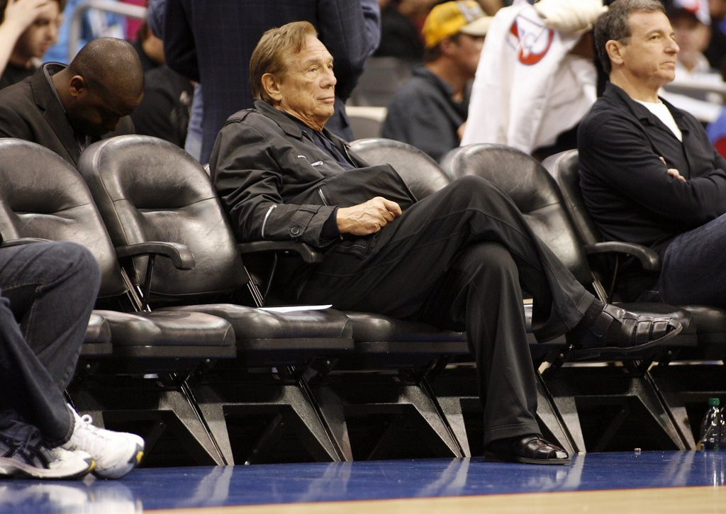 """. <p><b> Donald Sterling sat down for an interview with CNN�s Anderson Cooper earlier this week, and it�s clearer than ever that the banned Los Angeles Clippers owner � </b> <p> A. Detests Magic Johnson <p> B. Wants his family to retain ownership of the team <p> C. Was born in the 18th century <p><b><a href=\'http://www.cnn.com/2014/05/12/us/donald-sterling-interview/\' target=\""""_blank\"""">LINK</a></b> <p>   (AP Photo/Danny Moloshok, File)"""