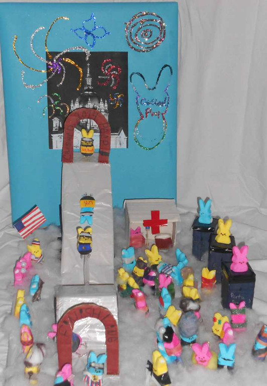 ". ""Crashed Peep 2014,\"" by Desiree King"