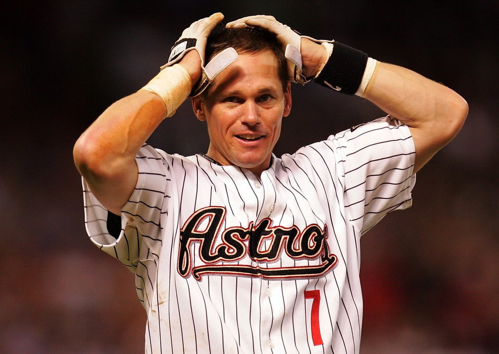 """. <p>2. CRAIG BIGGIO <p>Courageously saved from Hall of Fame induction by Bob Sansevere and Tom Powers. (unranked) <p><b><a href=\'http://www.twincities.com/sports/ci_24864805/baseball-hall-fame-how-five-pioneer-press-writers\' target=\""""_blank\""""> HUH?</a></b> <p>    (Ronald Martinez/Getty Images)"""