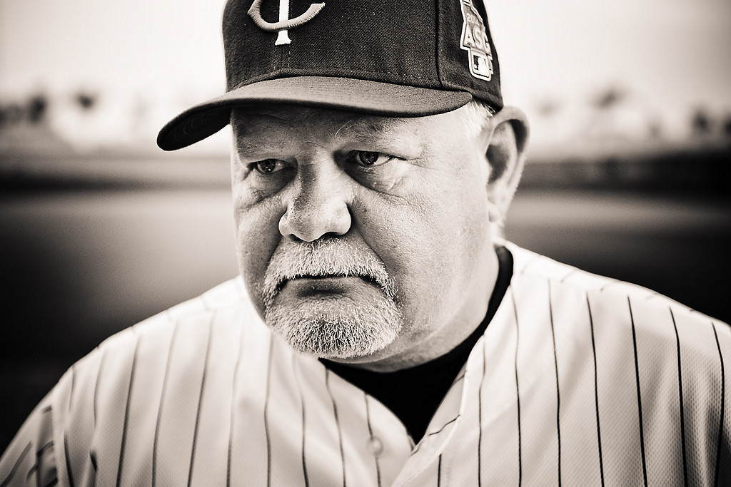 . Manager Ron Gardenhire. (Pioneer Press: Ben Garvin)