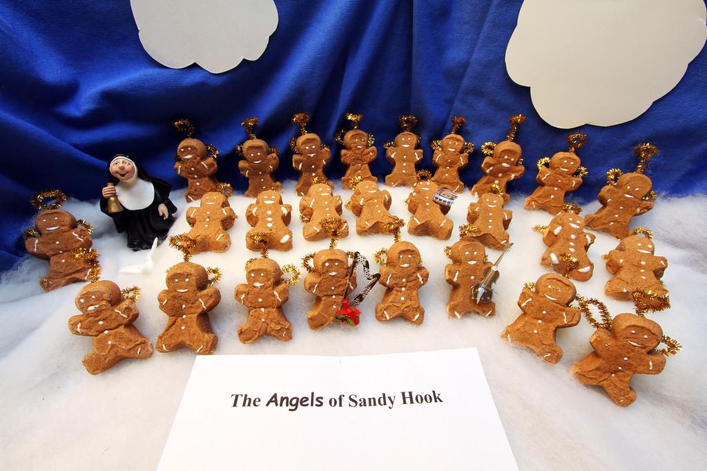 ". \""PEEPS Remembering Sandy Hook,\"" by Margie Born, Shoreview"