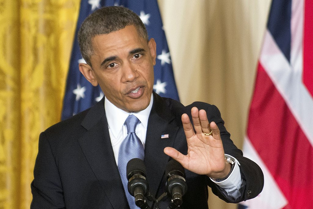 """. <p>7. OBAMACARE <p>Just making it up as he goes along ... (4) <p><b><a href=\'http://nypost.com/2014/02/11/no-one-can-make-obamacare-work/\' target=\""""_blank\""""> HUH?</a></b> <p>    (AP Photo/J. Scott Applewhite)"""
