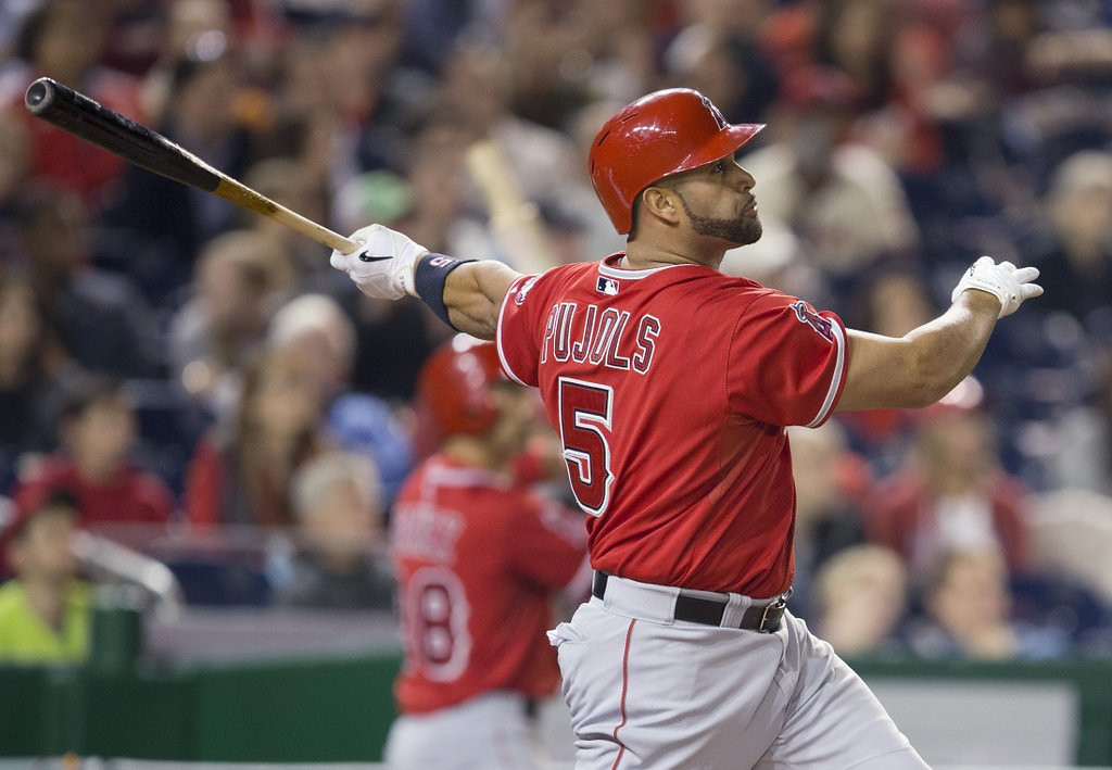 """. <p>8. ALBERT PUJOLS <p>Remember back in olden times when people actually gave a rip about 500 homers? (unranked) <p><b><a href=\'http://www.twincities.com/sports/ci_25617218/albert-pujols-hits-500th-hr-major-league-career\' target=\""""_blank\""""> LINK </a></b> <p>    (AP Photo/Pablo Martinez Monsivais)"""