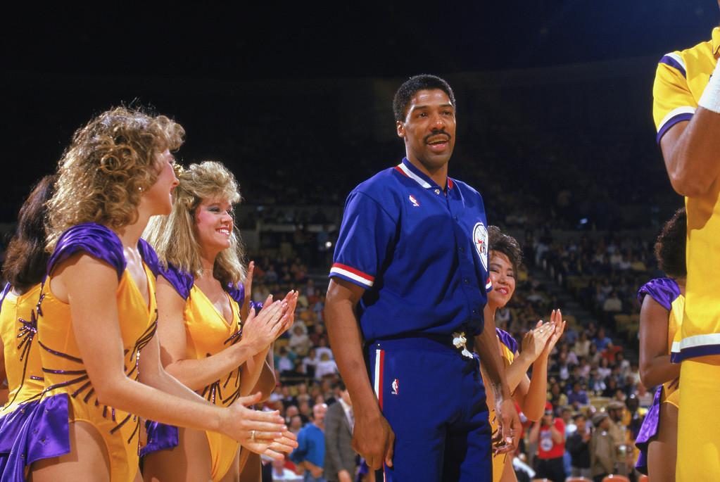 ". <p>2. JULIUS ERVING <p>Dr. J wants to tell you how his love child was conceived. BRACE yourself! (unranked) <p><b><a href=\'http://www.dailymail.co.uk/news/article-2481292/NBA-great-Dr-J-Julius-Erving-reveals-daughter-conceived-braces.html\' target=""_blank\""> HUH?</a></b> <p>    (Rick Stewart/Getty Images)"