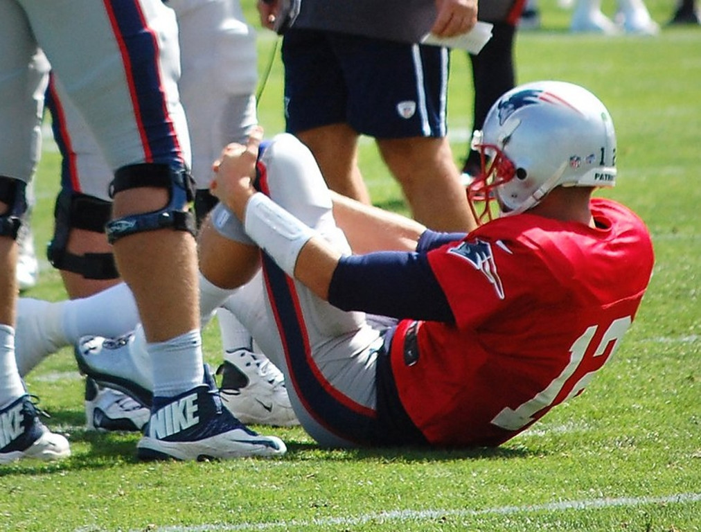 """. <p>2. TOM BRADY  <p>Millions of prayers from Tebow Nation were answered. Almost. (unranked) <p><b><a href=\'http://www.twincities.com/sports/ci_23867516/tom-brady-injury-scare-adds-patriots-cruel-summer\' target=\""""_blank\""""> HUH?</a></b> <p>    (AP Photo/Will DiTullio)"""