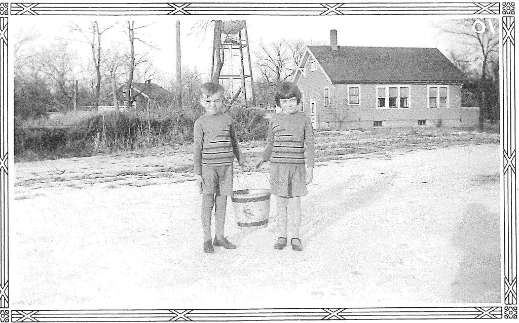 . The little treasures: Writes GRANDPA VINCE ON MOONLIGHT BAY: �Grandpa Vince and his twin sister, Virginia, were dressed as \'Jack and Jill\' for a first-grade school play in Ortonville, Minn., in 1931. She was so sweet! She would never tattle on me when I was naughty, for fear it would break Mom�s heart, and for sure that Dad would kill me. I miss her.�