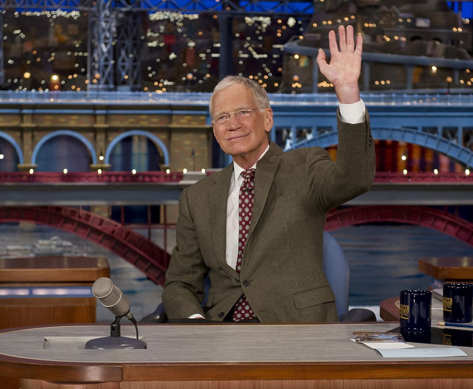 ". <p>3. DAVID LETTERMAN <p>Retiring so he can spend more quality time with the interns. (unranked) <p><b><a href=\'http://www.twincities.com/nation/ci_25489644/letterman-leave-late-show-2015\' target=""_blank\""> HUH?</a></b> <p>    (AP Photo/CBS, Jeffrey R. Staab)"