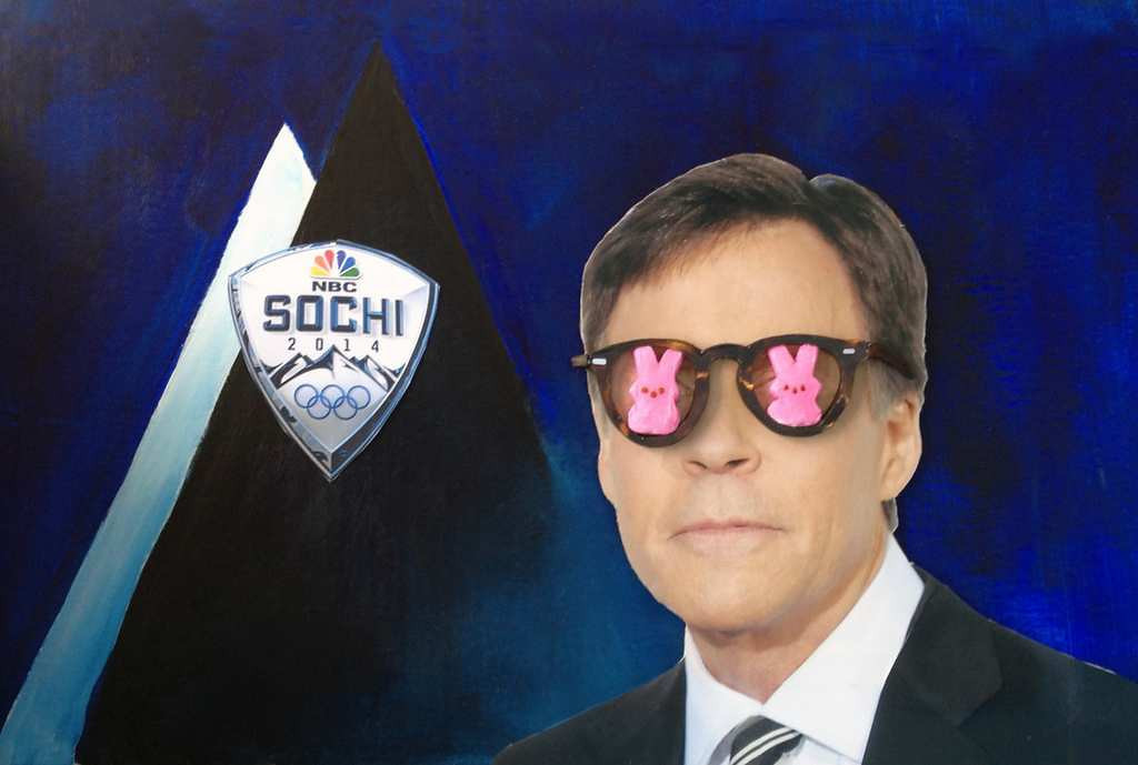 ". ""Bob Costas got Peep Eye,\"" by Ron Young of Shoreview"
