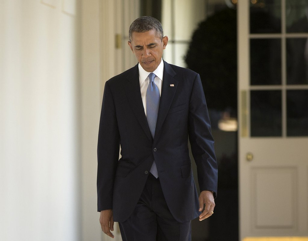 """. <p>1. BARACK OBAMA <p>Born and raised in Hawaii. Studied at Harvard. Taken to school by Syria and Russia. (unranked) <p><b><a href=\'http://www.weeklystandard.com/blogs/putin-didnt-save-obama-he-beat-him_753730.html\' target=\""""_blank\""""> HUH?</a></b> <p>  <p>OTHERS RECEIVING VOTES <p> Christian Ponder�s �postgame style�, Arsenio Hall, Mexican national soccer team, Anthony Weiner & Eliot Spitzer, NASCAR, Robert Bach, Dennis Rodman, Christian Ponder, Eddie Lacy, Diana Nyad, Mike Wallace, Ryan Seacrest, Jeff Locke, Anthony Weiner, Lamar Odom, Louis Tomlinson, John Kerry, Clay Matthews, Washington Redskins, Tony Sutton, Jason Witten�s lunch. <p> (AP Photo/Pablo Martinez Monsivais)  <br><p>Follow Kevin Cusick on <a href=\'http://twitter.com/theloopnow\'>twitter.com/theloopnow</a>."""