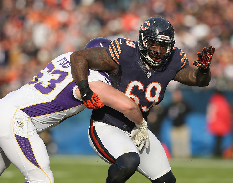 """. <p>7. HENRY MELTON <p>Could have added some bite to the Vikings� defensive line. Kidney bites. (unranked) <p><b><a href=\'http://www.twincities.com/vikings/ci_25366525/vikings-competition-signing-henry-melton-heats-up\' target=\""""_blank\""""> HUH?</a></b> <p>    (Jonathan Daniel/Getty Images)"""