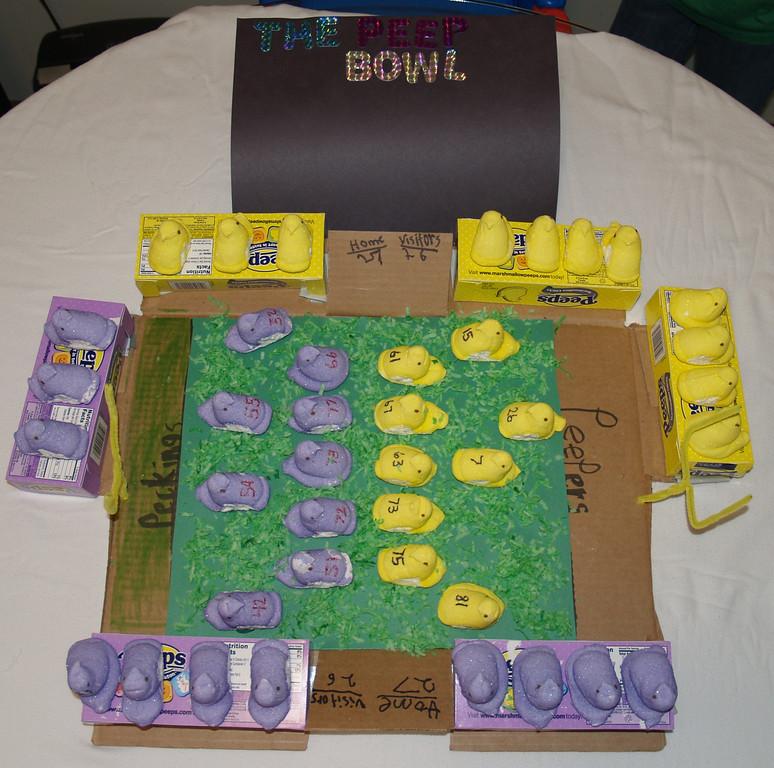 """. \""""The PEEP Bowl 2013,\"""" by Jenn Taylor"""
