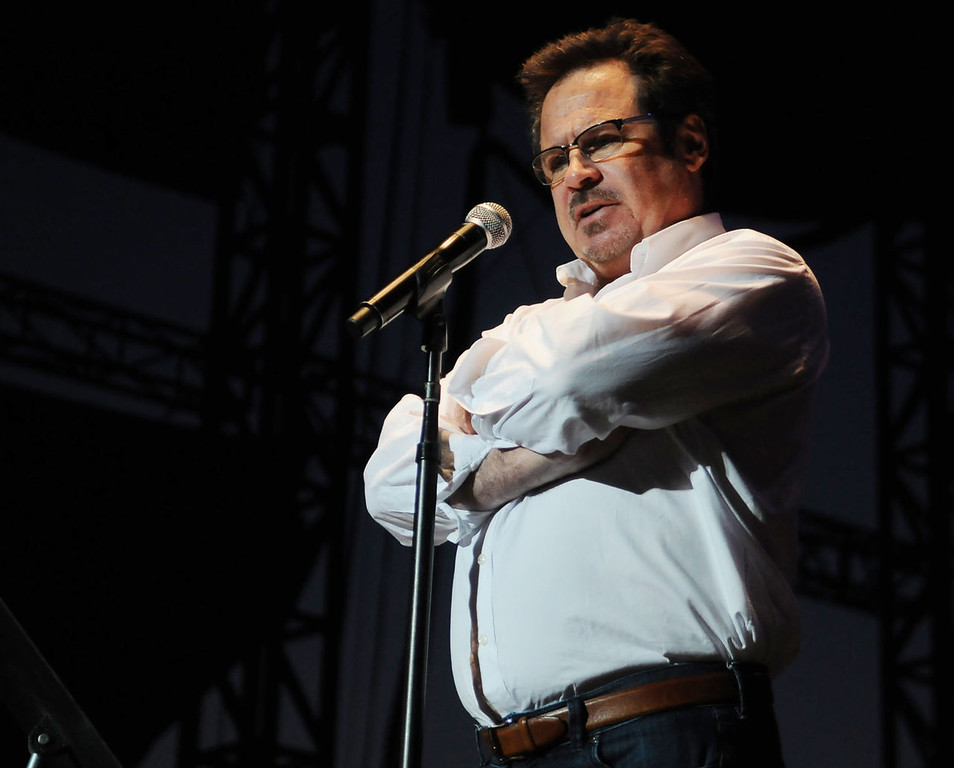 . Comedian and actor Dennis Miller performs at the Minnesota State Fair Grandstand. (Pioneer Press: John Autey)