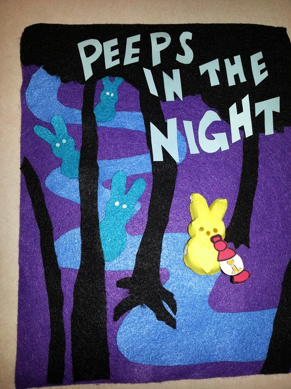 """. \""""Peeps in the Night,\"""" by Rebecca Tangalos, Rochester"""