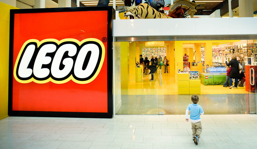 . The entrance to the Lego Store at Mall of America in Bloomington lures a child on Tuesday, October 29, 2013. The classic children�s toy � old enough to be a senior citizen � has managed to reinvent itself over the decades, and is now more popular than ever. (Pioneer Press: Ben Garvin)