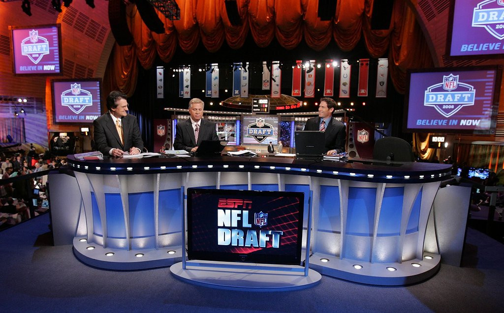 ". <p><b> Football fans are filled with excitement less than 48 hours from the start of the NFL draft, because that means  � </b> <p> A. Their favorite teams will get needed improvements <p> B. Football talk will be in the air all weekend <p> C. Mel Kiper will disappear again in only four days <p><b><a href=\'http://www.lostlettermen.com/slideshow/mel-kipers-biggest-nfl-draft-busts\' target=""_blank\""> LINK </a></b> <p>    (Jim McIsaac/Getty Images)"