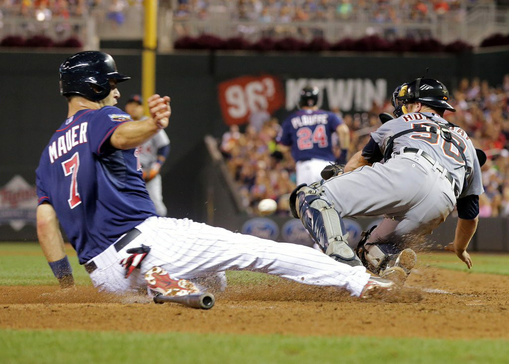 """. 3. (tie) MINNESOTA TWINS <p>Last-place juggernaut leading the league in meaningless runs. (unranked) </p><p><b><a href=\""""http://www.twincities.com/twins/ci_26393600/twins-offensive-surge-continues-12-4-victory-over?source=rss\"""" target=\""""_blank\""""> LINK </a></b> </p><p>   (AP Photo/Jim Mone)</p>"""