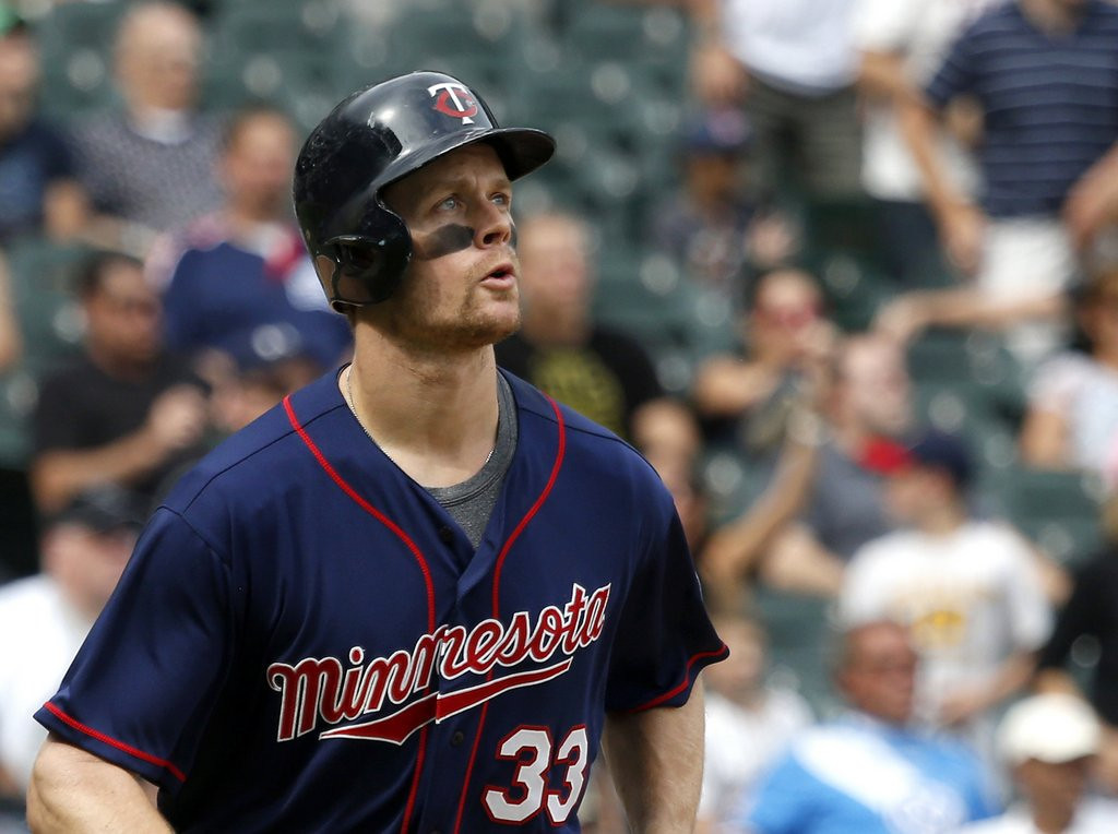 . <p>3. JUSTIN MORNEAU <p>Apparently can still hit some home runs when the games no longer matter. (unranked) <p>    (AP Photo/Charles Rex Arbogast)