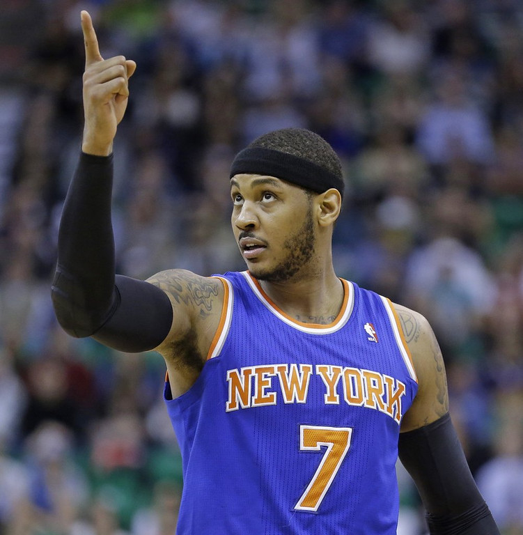 """. <p>7. (tie) NEW YORK KNICKS <p>Came THIS close to being the most fecal playoff team in the history of ... history. (unranked) <p><b><a href=\'http://deadspin.com/the-hapless-knicks-get-their-own-one-shining-moment-m-1562739231\' target=\""""_blank\""""> HUH?</a></b> <p>   (AP Photo/Rick Bowmer)"""