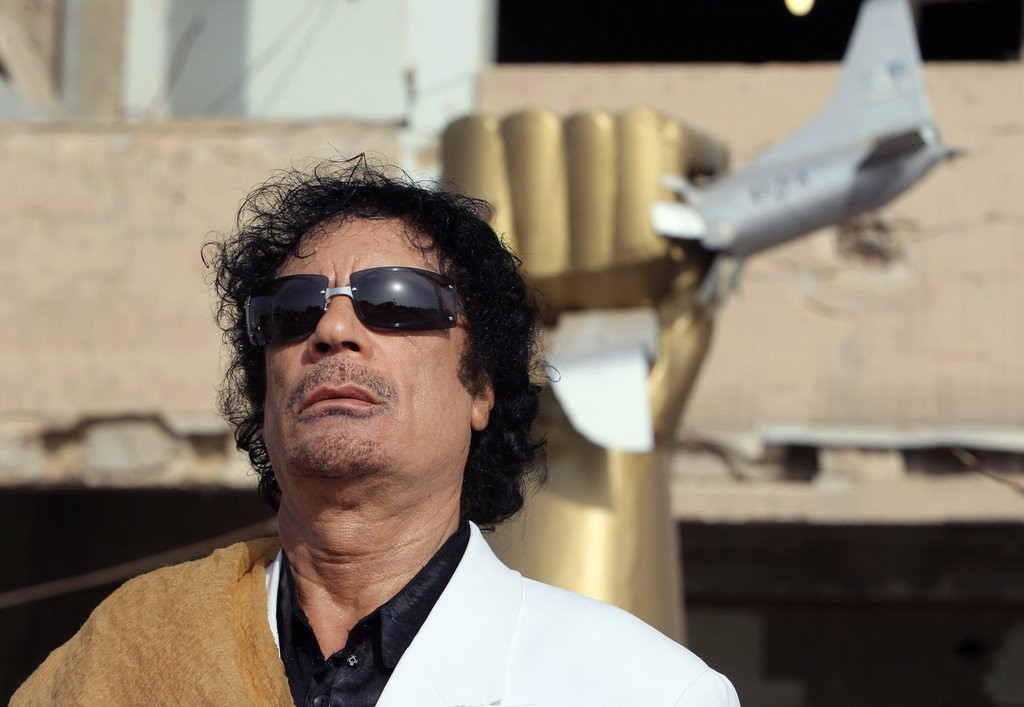 """. <p>7. MOAMMAR GADHAFI  <p>Turns out Libyan dictator firmly believed in equality, opening up his harem of sex slaves to both girls and boys. (unranked) <p><b><a href=\' http://www.dailymail.co.uk/news/article-2545819/Uncovered-The-macabre-sex-chamber-Libyas-Colonel-Gaddafi-raped-girls-boys-young-14.html\' target=\""""_blank\""""> HUH?</a></b> <p>   (Patrick Korvarik/AFP/Getty Images)"""