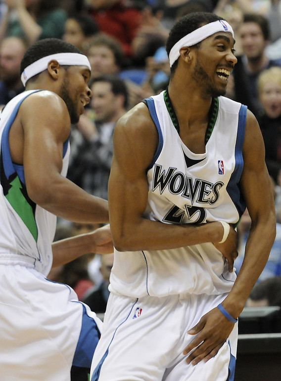 . 14. 2007: No. 7 Corey Brewer, No. 41 Chris Richard.  McHale liked what he saw in two members of the Florida team that won back-to-back national championships. But he ended up picking the wrong two ex-Gators. The Wolves had no chance at Al Horford, who was selected at No. 5 by Atlanta. But they missed on Joakim Noah (drafted No. 9 by Chicago) who has developed into a consistent double-double threat for the Bulls. Brewer�s best season came in 2009-10 when he averaged 13.0 points while starting all 82 games. But Minnesota traded Brewer late in the following season for Anthony Randolph and Eddy Curry. Richard�s NBA career lasted 70 games in two seasons (one with the Wolves). Future all-star center Marc Gasol was drafted seven spots later in the second round at No. 48. (AP Photo/Jim Mone)