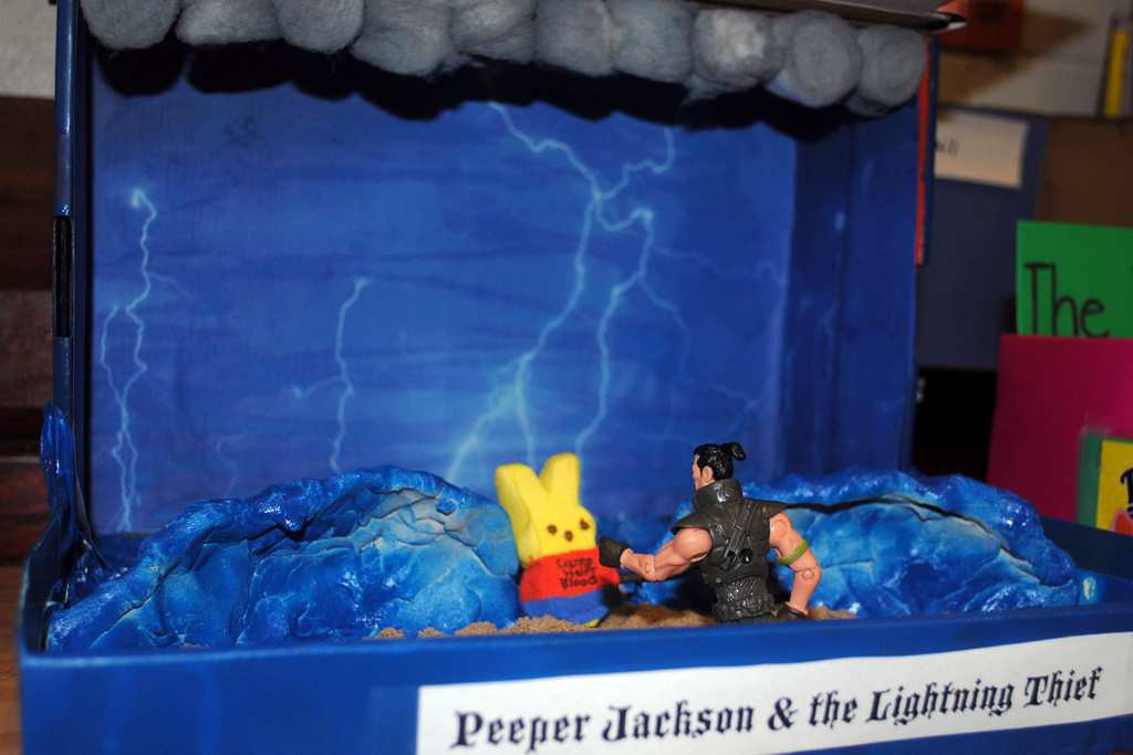 ". ""Peeper Jackson and the Lightning Thief\"""
