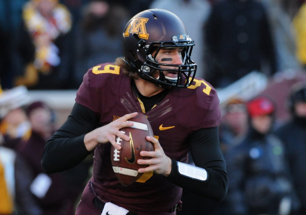 """. <p>4. (tie) PHILIP NELSON <p>Leaving Gophers for Rutgers, the Big Ten�s new doormat. Good luck with that! (unranked) <p><b><a href=\'http://www.twincities.com/sports/ci_25020199/former-gophers-qb-philip-nelson-picks-next-stop\' target=\""""_blank\""""> HUH?</a></b> <p>    (Pioneer Press: Scott Takushi)"""
