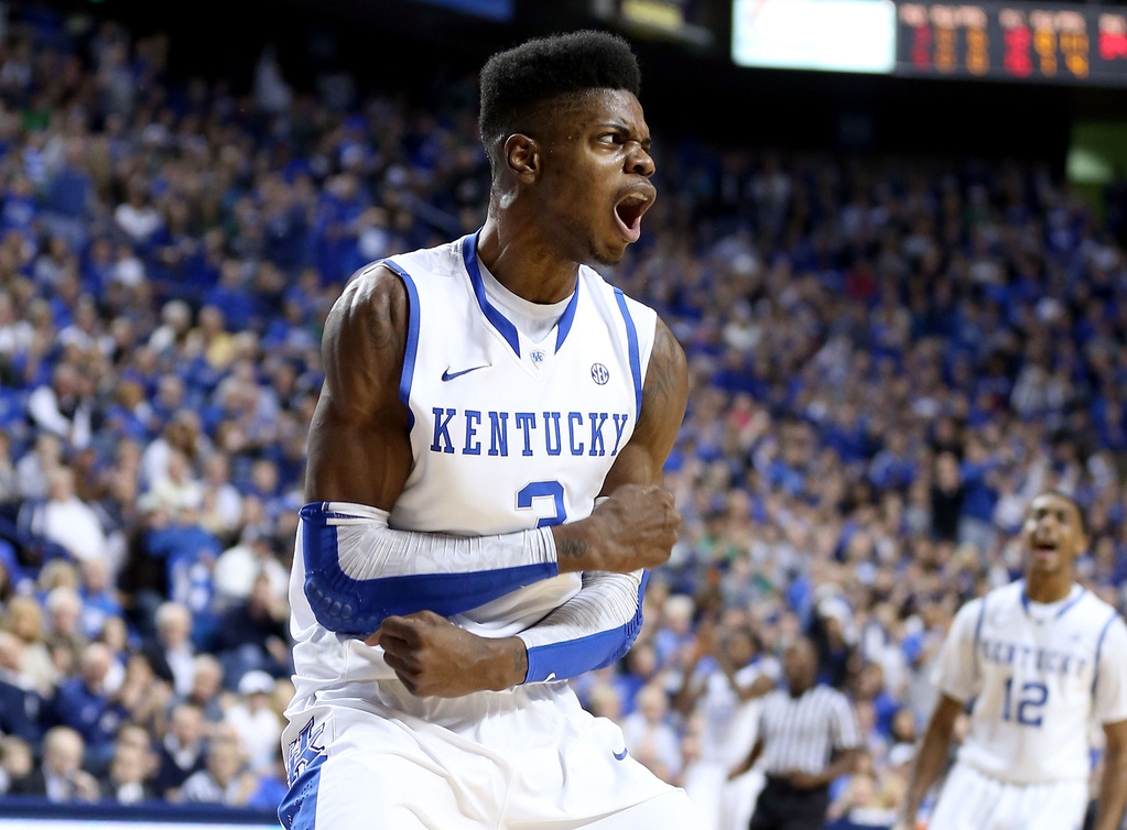 . 1.) Cleveland Cavaliers -- Nerlens Noel, center, Kentucky -- The 7-foot freshman would have been the unanimous top pick had he not suffered a season-ending knee injury. The Cavs are considering several options, but are enamored with his potential. They�ll need to wait until December for his debut.   (Photo by Andy Lyons/Getty Images)