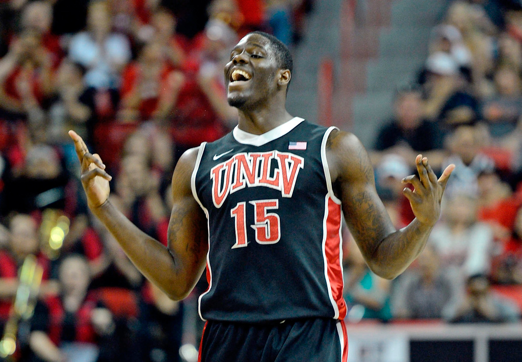 . 4.) Charlotte Bobcats -- Anthony Bennett, power forward, Nevada-Las Vegas -- Not only does Bennett remind people of Larry Johnson because of his power game, athleticism and build (6-7, 240), he�s also from the same school. Don�t be surprised if he�s a future all-star like Johnson, too.  (Photo by Jeff Bottari/Getty Images)