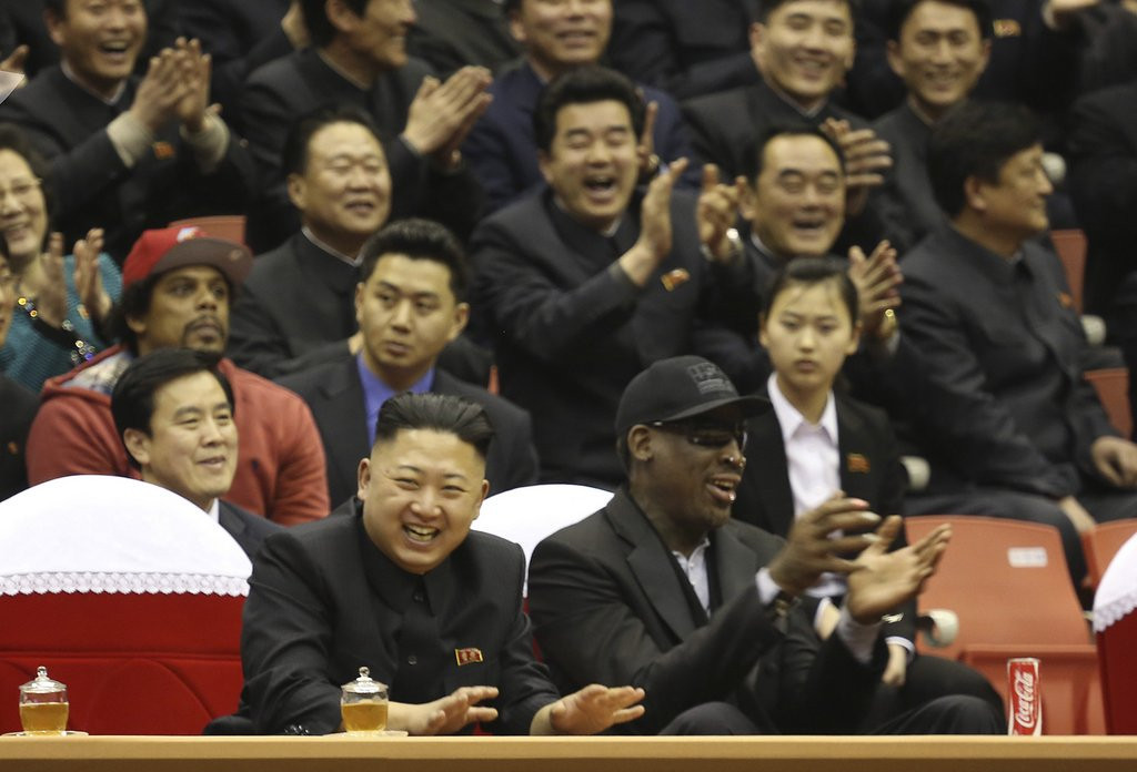 ". <p>18. DENNIS RODMAN <p>Doomed basketball adviser coming soon to a North Korean purge near you. <p><b><a href=\'http://www.foxnews.com/world/2013/12/17/worm-returns-dennis-rodman-due-back-in-north-korea-despite-turmoil/\' target=\""_blank\""> HUH?</a></b> <p>    (AP Photo/VICE Media, Jason Mojica, File)"